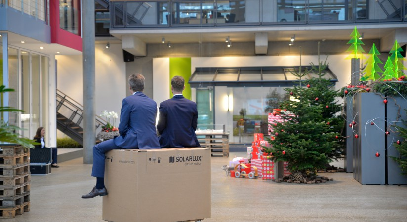 Weihnachtsfilm behind the scenes