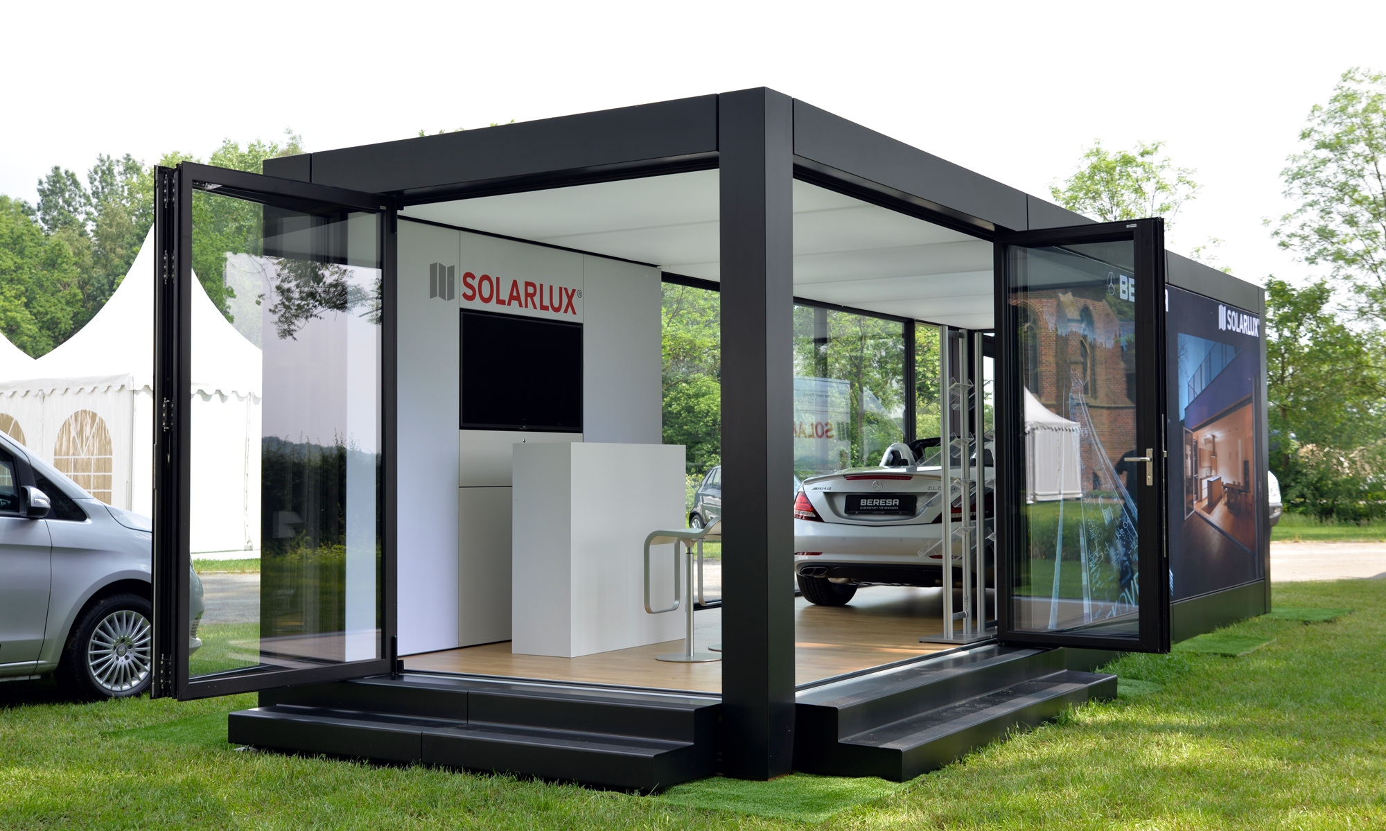 solarlux auf landpartie solarlux blog. Black Bedroom Furniture Sets. Home Design Ideas