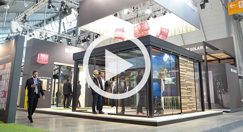 Film ab! Solarlux auf der R+T in Stuttgart